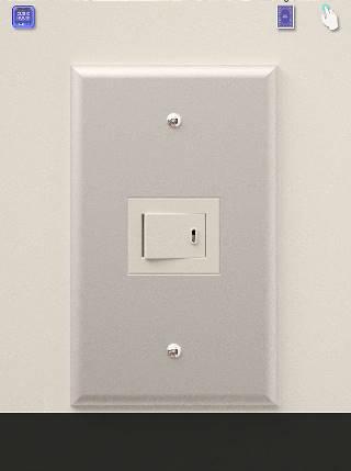 電源のスイッチオン cubic room2攻略
