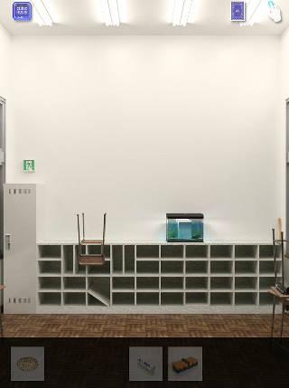 脱出ゲーム cubic room2/キュービックルーム2攻略 教室