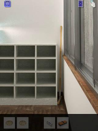 脱出ゲーム cubic room2/キュービックルーム2攻略 ほうきのある教室