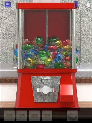 コインガチャガチャ 脱出ゲーム cubic room2/キュービックルーム2攻略