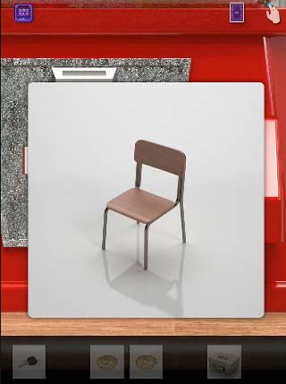 脱出ゲーム cubic room2/キュービックルーム2攻略 椅子 イス