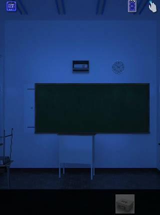 cubic room2攻略 暗闇の部屋 黒板
