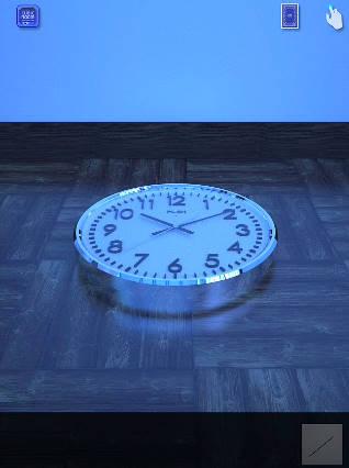 時計が落ちている cubic room2攻略